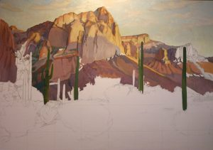 underpainting-of-bull-dog-bluff